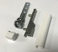 Aubi Reparaturset Eckband / Ecklager weiß