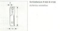 Roto Schließstück R604B41
